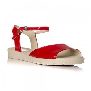 Sandale Piele Naturala Cu Talpa Joasa Passion