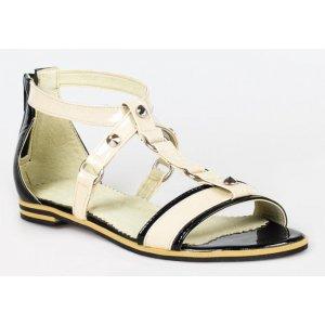 Sandale Cu Toc Din Piele Naturala Verona