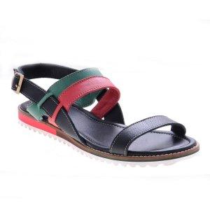 Sandale joase piele naturala Vero negru