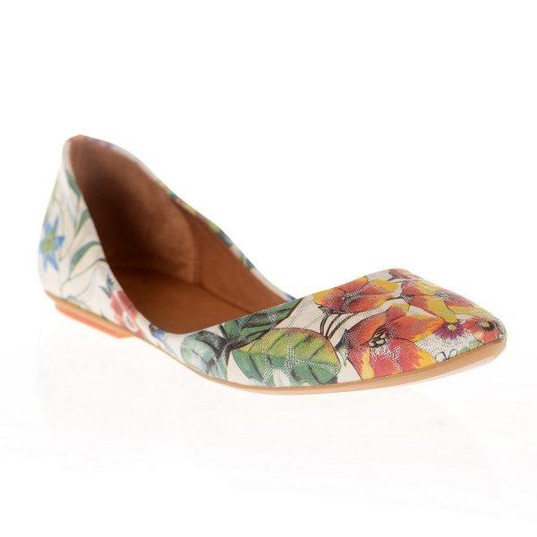 Balerini dama Flower Multicolor