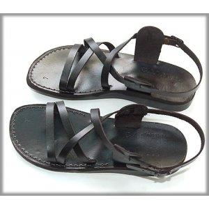 Sandale Romane Clasic N Negre